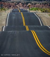 The Long Road (James Neeley) Tags: california road landscape telephoto jamesneeley