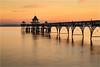 Pastal Pier (Chris Beard - Images) Tags: sunset sea seascape water landscape pier colours coasts clevedon clevedonpier