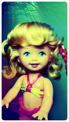 Sandy (Alberto.Gar) Tags: ariel swim doll little lets sandy 1997 mermaid mattel dol the merbaby