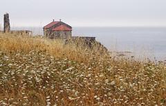 Chapel on the Edge (Polimom) Tags: ruins chapel galicia shore ogrove preroman