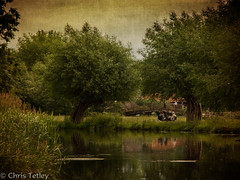Summer Picnic by the river (Chris Tetley) Tags: england mill river suffolk picnic unitedkingdom constable stour eastbergholt flatford