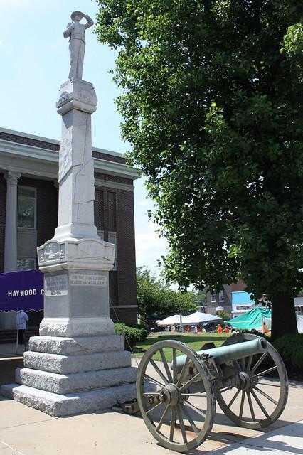 Haywood County Confederate Statue