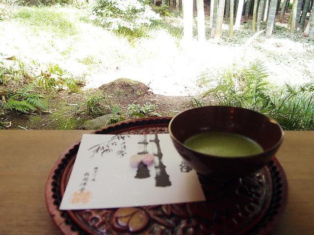 報国寺 休耕庵で抹茶をいただきたくて… その2|報国寺(竹寺)