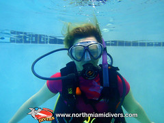 Learning to Scuba Dive-August 2013-33 (Squalo Divers) Tags: usa divers florida miami scuba diving learning padi squalo