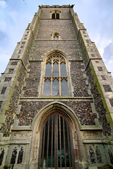 The Tower of St Mary (JDS-photo) Tags: old england tower church graveyard bells ancient norfolk medieval nave middleages chancel hdr buttress medievalchurch houseofgod jammo sigma1020mmex canoneos60d norfolksmedievalchurches