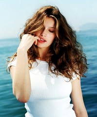 Laetitia Casta (Keeping2011) Tags: portrait woman white hot cute sexy celebrity beach water face shirt swimming hair french necklace big model eyes breasts pretty photoshoot arms heart boobs body chest curves large stomach curvy lips full commercial actress actor elbows shorts cleavage breeze heavy wavy busty fit laetitia laetitiacasta pouty voluptuous casta buxom endowed chested летициякаста