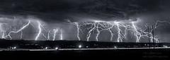 Lightning Composite (inlightful) Tags: sky storm weather clouds strike thunderstorm plasma lightning thunder lightningstrike severeweather electricalstorm astraphobia electrostatic electrostaticdischarge fulminology