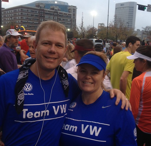 Team VW Dallas Marathon 2012