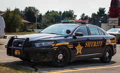 Licking County Sheriff Ford Taurus (Pyrat Wesly) Tags: ohio ford canon policecar taurus patrolcar tamron2875mmf28 60d lickingcountysheriffsoffice