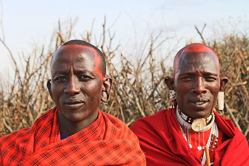 Maasai in the Eastern Serengeti