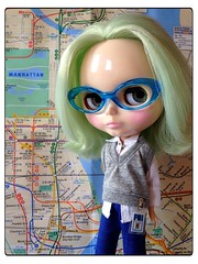 NYC SUBWAY BLYTHE CHRONICLES: Special Agent Dylan Ivy__Train: N__Station: 59th St