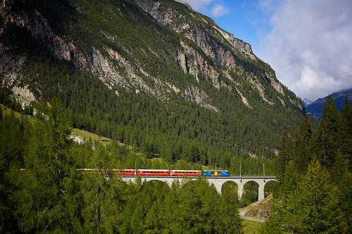 """652 Vaz/Obervaz""RegioExpress nach Chur"