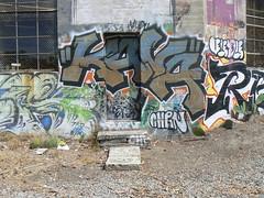 kava on door (httpill) Tags: streetart art graffiti oakland tag graf kava