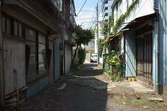 The other side of the river#13 (tetsuo5) Tags: gr yokohama 横浜 tsurumiku 鶴見区 本町通 honchodori
