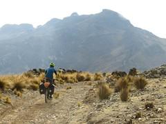 Climbing to 4700m Punta Suijo