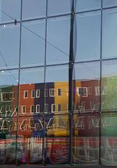 Amsterdam Arena (Knoffelhuisie Photography.) Tags: reflection amsterdam elements mediamarkt bijlmer amsterdamarena reflektie bijlmerboulevard