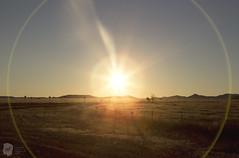 Sun Halo (nlewis039) Tags: light sunset nature field landscape texas glare halo naturallight flare marfa canoneos6d