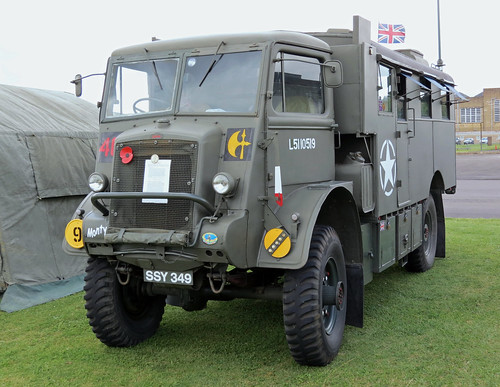 SSY349 Bedford QL Command Lorry