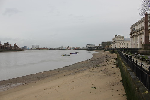 Low Tide, River Thames at Greenwich by EEPaul, on Flickr
