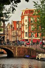 inspirao (Vitor Nisida) Tags: amsterdam gua canal nederland ponte urbana holanda