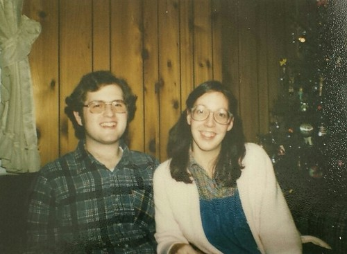Brian Copeland, son of William Delvie Copeland, and his wife, Roxanne, circa 1980.