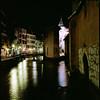 H106 (max kipp) Tags: city longexposure travel france reflection annecy 120 6x6 film water night analog zeiss mediumformat square image kodak fine hasselblad reise 501cm mittelformat hassi 80mmf28t
