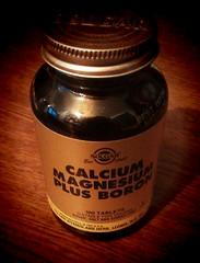 Calcium, magnesium, boron