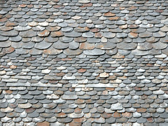 slate roof in Llavorsi, Schieferdach in Llavorsi (Marlis1) Tags: roof slate dach schiefer llavorsi marlis1