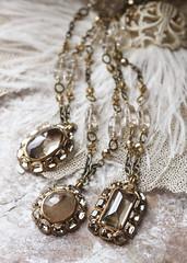 N-3328, N-3329, N-3330 (Kotomi_) Tags: vintage necklace costume handmade style jewelry medieval jewellery collection polymerclay historical period byzantine springsummer naturalstone semiprecious 2014  kotomi    kotomiyamamura kotomijewellery    {vision}:{plant}=0617 {vision}:{outdoor}=0888