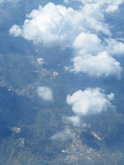 flying over spain (squeezemonkey) Tags: sky clouds landscape flying aerialview