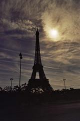 Eiffel and the sky