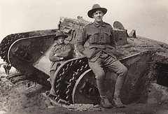 WW1 AIF Soldiers, Digger's Unknown, Pozieres (Stuart Curry) Tags: vintage soldier army tank military australian corps historical westernfront ww1 digger anzac aif thegreatwar australianimperialforces dftd ww1soldier lostdiggers thelostdiggers ww1digger dontforgetthediggers ww1aif thegreatwarcollage tgwc ww1anzac vision:outdoor=0939