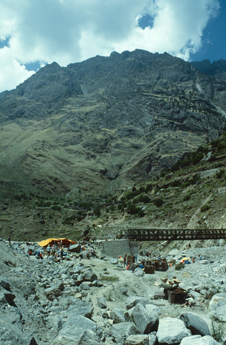 Bridge Across the Rishi Ganga at Reni
