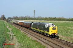 55016 Woodthorpe 29-03-14 (benwheeler) Tags: great central railway loughborough deltic gcr woodthorpe d9016 55016