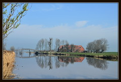 Niederlande / Provinz Groningen / Hof am Aduarderdiep (berndwhv) Tags: nederland niederlande landschaften aduard provinciegroningen aduarderdiep provinzgroningen