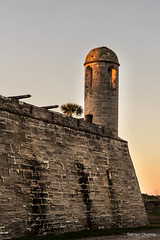 Evening Shot of the Castillo de San Marcos (salman_cheema14) Tags: cannon staugustine goldenhour eveninglight castillodesanmarcos staugustinefort