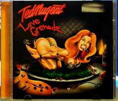 """Ted Nugent """"Love Grenade"""" CD Still Raising Hell. (standhisround) Tags: music usa art rock studio texas album cd heavymetal cover hardrock tednugent lovegrenade"""