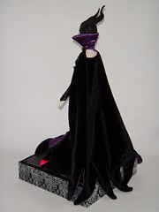 Disney Film Collection Maleficent 12'' Doll in Designer Maleficent's Outfit - Disney Store - On Designer Display Stand - Full Right Rear View (drj1828) Tags: us outfit dress dressing staff cape gown disneystore 12inch maleficent 1112inch disneyvillainsdesignercollection disneyfilmcollection disneymaleficent swappingoutfits