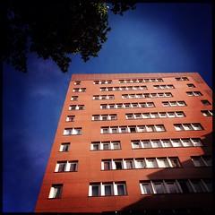 Immeuble n°1 (berardici) Tags: blue bleu immeuble issy cielbleu issylesmoulineaux bleuazur objectifjane immeuble1 rasputinfilm filmrasputin janerasputin