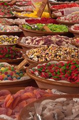 Candies (serbosca) Tags: street food color fruit spain market sweet jelly candies fornells dolci minorca caramelle gelatina