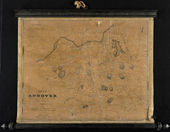 A Plan of Andover taken for the Town, 1830 (Phillips Academy, Andover) Tags: campus 1830s phillipsacademy andovermassachusetts mosesdorman