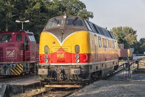 Bentheimer Eisenbahn V200 D20, Bentheim Nord, 10 juli 2015