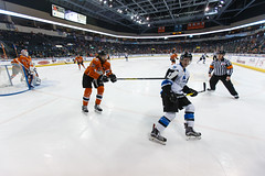 "Missouri Mavericks vs. Wichita Thunder, February 7, 2017, Silverstein Eye Centers Arena, Independence, Missouri.  Photo: John Howe / Howe Creative Photography • <a style=""font-size:0.8em;"" href=""http://www.flickr.com/photos/134016632@N02/31959645224/"" target=""_blank"">View on Flickr</a>"