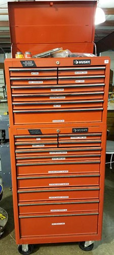 Husky Rolling Tool Chest with Additional Lift Top Chest ($313.60)