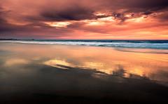 Sparse (meeyak) Tags: sparse ocean beach reflection colors light sunset oc orangecounty california westcoast seascape landscape meeyak nikon d800 1635mm 56thstreet travel vacation usa adventure ndfilter