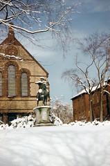 snow on east side 1958