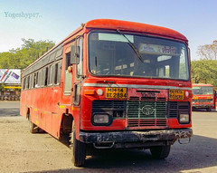Akola - Shegaon (yogeshyp) Tags: msrtc msrtcparivartanbus maharashtrastatetransport akolashegaonstbus shegaondepotbus