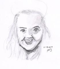People Sketches 17 (jimblodget) Tags: portrait faces pencil people