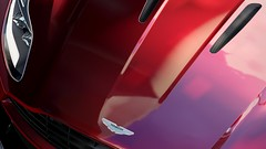 Elegant Face (Mr. Pebb) Tags: xboxone forzahorizon3 forza photomode videogame british astonmartin db11 car stock front closeup headlight bonnet v12 rwd rearwheeldrive