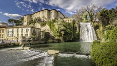 Landscape with waterfall (RF_86) Tags: isola liri water waterfall reflections photography landscape italy lazio view amazing panorama wide angle canon eos 60d march 2017